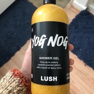 Lush: Yog Nog Shower Gel